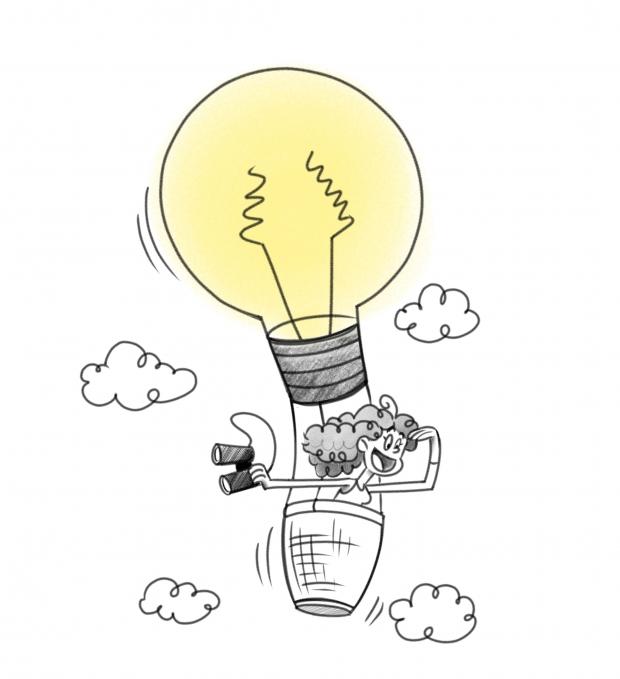 Inspiration balloon