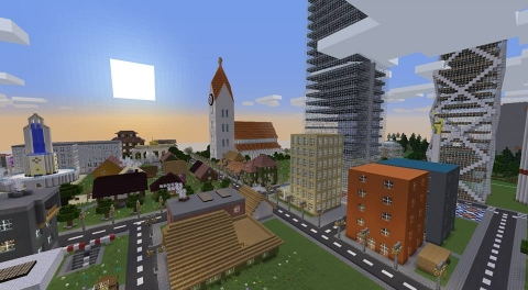 Youth participation by gaming - Minecraft/Minetest as a tool